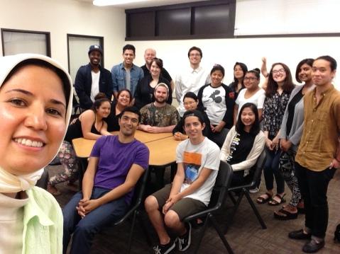 Spring 2015 Newswriting Class
